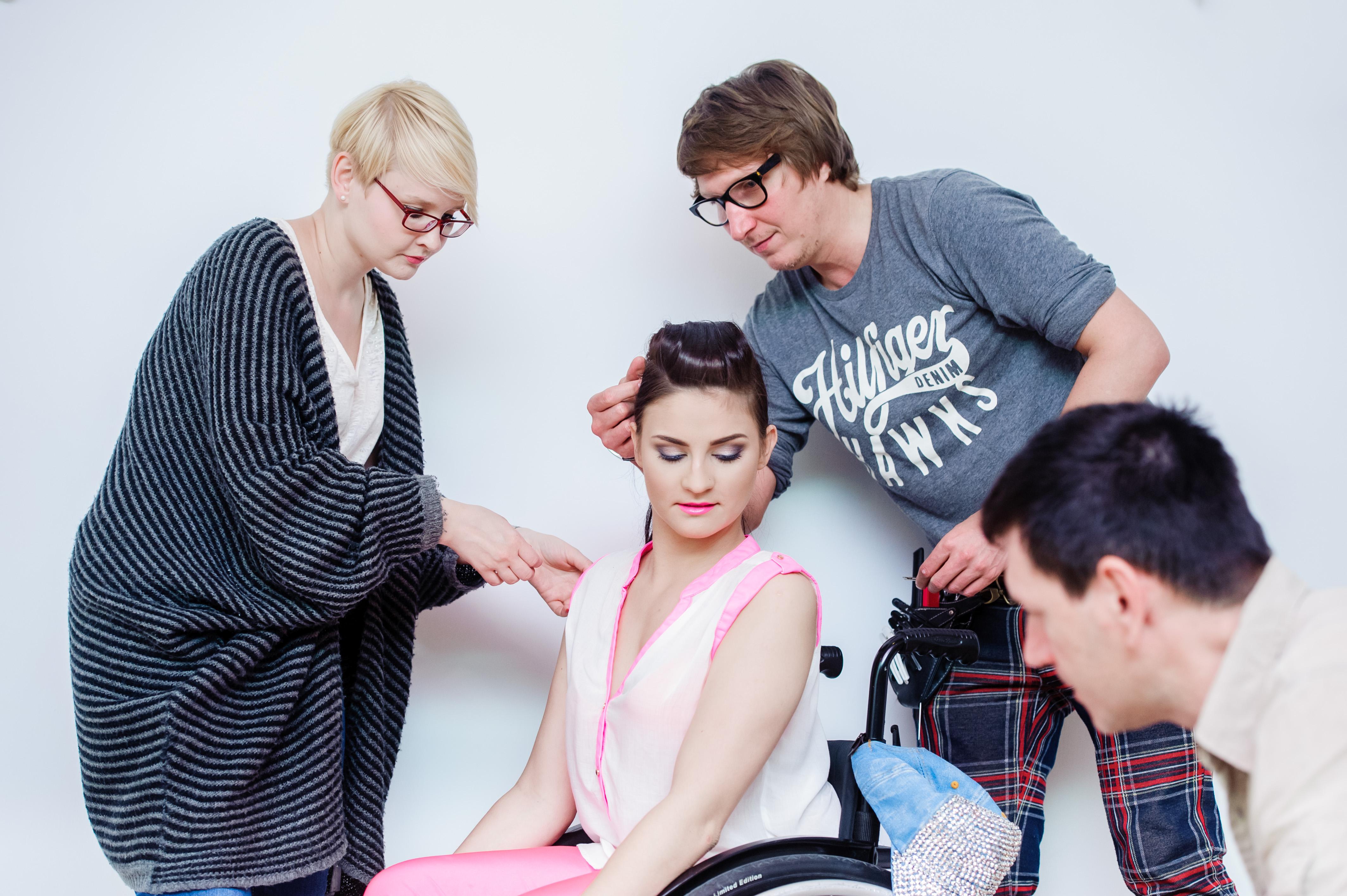 Miss Polski na wózku stylistka